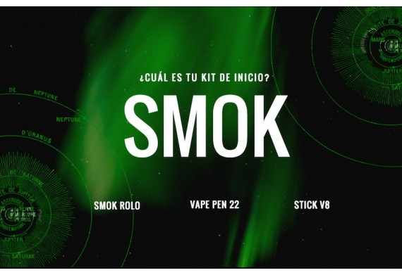 Gran variedad de productos Smok