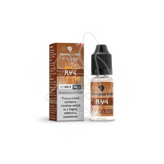 DIAMOND MIST RY4 NICSALT 20MG 10ML