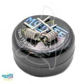 MONTECOILS THOR ALIEN DUAL 0.12 OHM 2.5MM