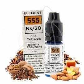 ELEMENT 555 TOBACCO NIC SALTS 10ML