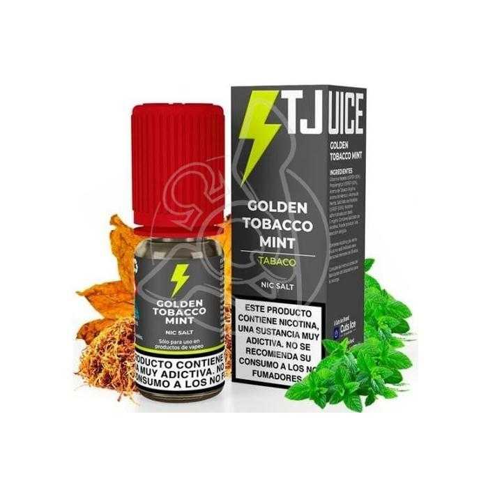 T-JUICE GOLDEN TOBACCO MINT NIC SALT 20MG 10ML