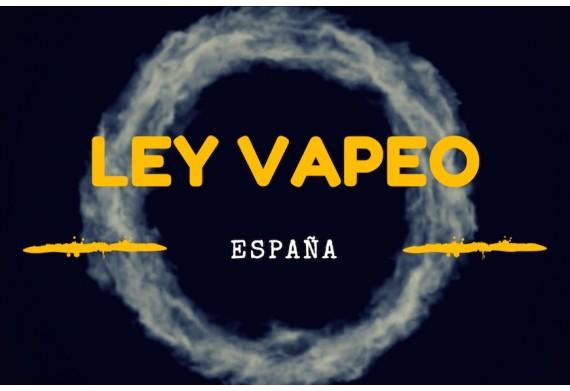 LEY ESPAÑOLA DEL VAPEO
